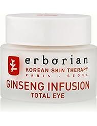 ERBORIAN Ginseng Infusion Total Eye Crème contour des yeux Rénovation totale, 15 ml