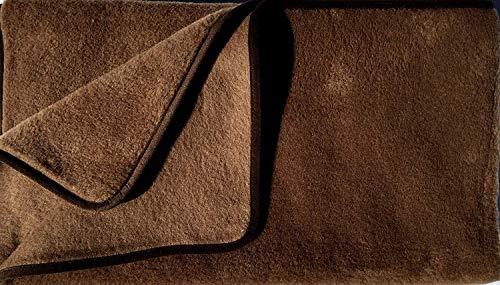 Alpenwolle Decke Wolldecke Kamelhaardecke Sofadecke Kuscheldecke Verschiedene Größen (150 x 200 cm)