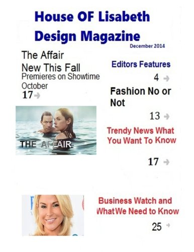 House of Lisabeth Design Magazine