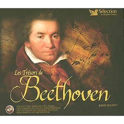 LES TRESORS DE BEETHOVEN AVEC 1 CD AUDIO