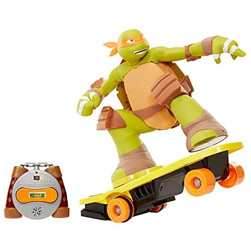 Image of Teenage Mutant Ninja Turtles Skateboarding Mikey Remote Control Toy