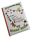 SCS 350 x 250 mm Scrap Book - Assorted Colours (Pack of 3)