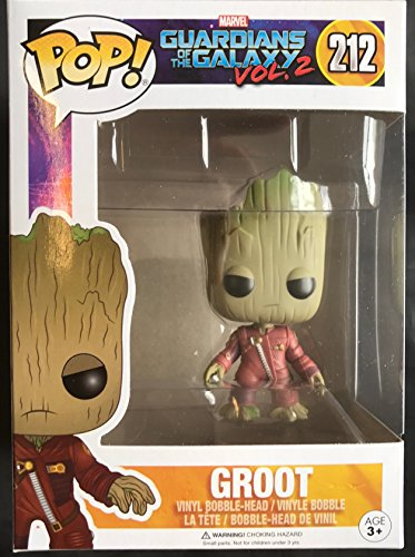 Foto de Figura POP! Marvel Guardians of the Galaxy 2 Young Groot in Suit Angry Exclusive