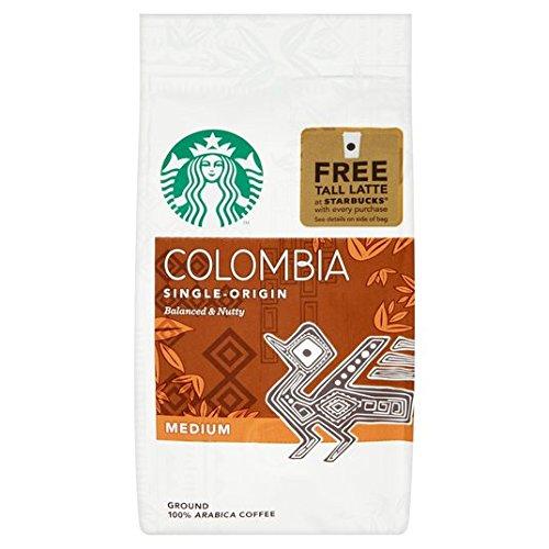 Starbucks Coffee kolumbianische Boden 200g