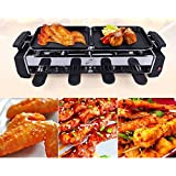 Goank Amazing Electric Smokeless Barbecue Grill And Tandoor - Now With Frying And Roasting Function