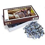 Puzzle mit eigenem Foto gestalten (Individuelles Fotopuzzle inkl. Puzzle-Schachtel, per Digitaldruckverfahren, Maße: 65,5 x 48 cm, ideal als persönliches Fotogeschenk) (1000 Teile)