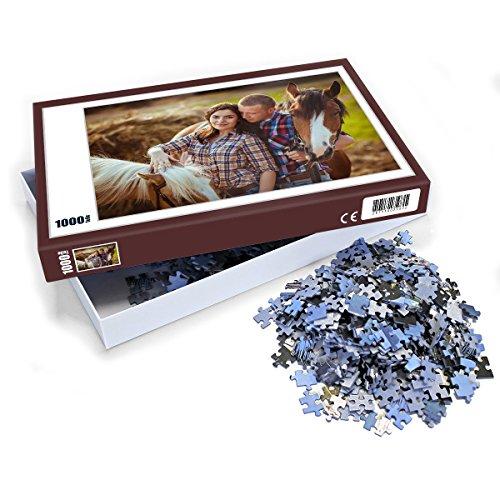 Puzzle mit eigenem Foto gestalten (Individuelles Fotopuzzle inkl. Puzzle-Schachtel, per Digitaldruckverfahren, Maße: 65,5 x 48 cm, ideal als persönliches Fotogeschenk) (1000 - Foto Puzzle