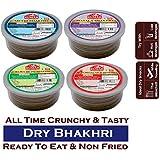 Kumar Bhakhri All time Hit Combo (Methi, Bajra Methi, Masala and Chilli Garlic) 200gm Each (Pack of 4)