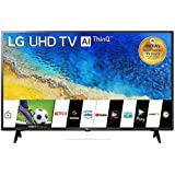 LG 108 cm (43 inches) 4K UHD Smart LED TV 43UM7290PTF (Ceramic Black) (2019 Model)
