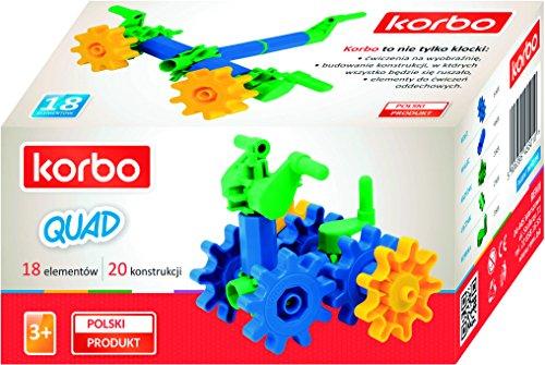 Korbo - Juguete Educativo 18 Quad (Remi 1019)