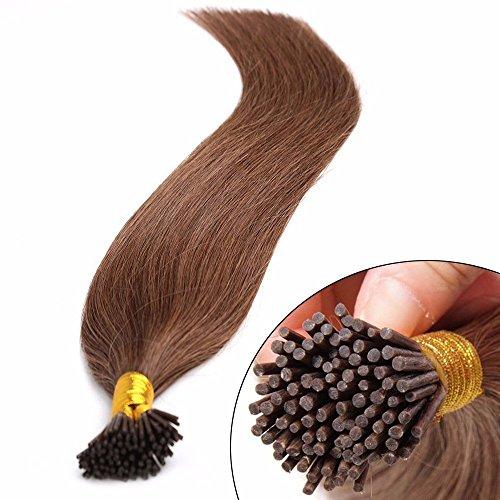 Extensiones cabello natural frio - 45CM - 100 mechas