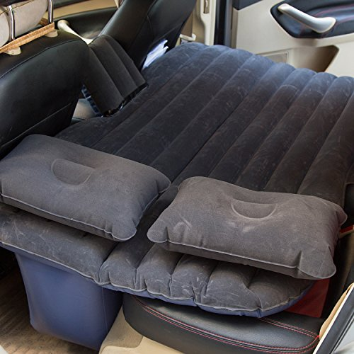 ANTFEES Car Travel Inflatable Mattress Flocking Air Bed