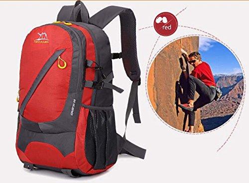 Casual Bag Trekkingrucksack, grün rot