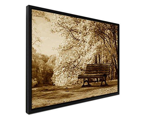 105-x-75-cm-quadro-da-parete-colore-seppia-su-tela-inkusive-ombra-fughe-telaio-nero-la-fine-di-fiori