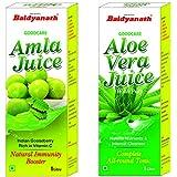 Baidyanath Amla Juice - 1 L and Baidyanath Aloe Vera Juice - 1 L