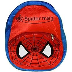 ToyJoy Spiderman school bag 35cm for kids/girls/boys/children plush soft bag backpack cartoon bag gift for kids
