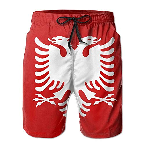 Desing shop Albanian Eagle Men's Summer Swim Trunks Casual Swim Short X-Large Glory Boys Jeans