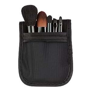 Sleek MakeUP - 5-teiliges Pinselset mit Tasche