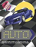 Super libro da colorare per bambini - Auto. Più di 200 auto: Chevrolet, KIA, Citroen, Nissan, Ford, Suzuki e altri. Libri da colorare divertenti per bambini