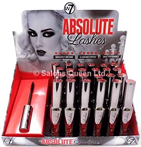 Infinity Absolute - W7 Absolute Lashes Mascara 13ml - Blackest