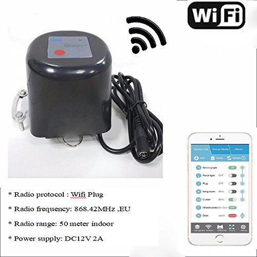 Jinvoosmart Wireless Wifi Plug Smart Water/Gas Valve UK - Serie Ring-pull