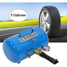 Inflador Blaster Tubo Inflable de Alta Presión 5 Galones Tire Bead Seater Tanque de Aire para Neumático de Automóviles, Camiones, Vehículos Todo Terreno, Tractores