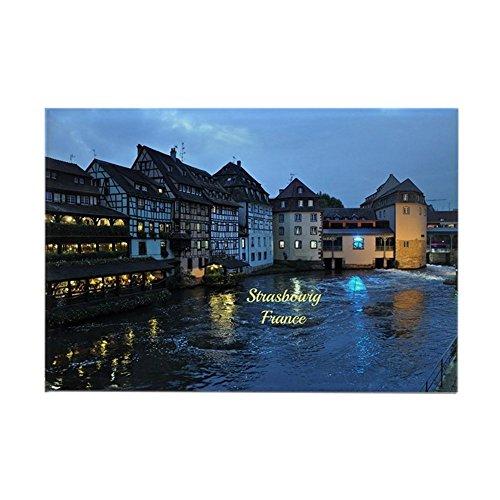 CafePress–Scenic Straßburg, Frankreich–Rechteck Magnet, 5,1x 7,6cm Kühlschrank Magnet Magnet Kühlschrank Abdeckung