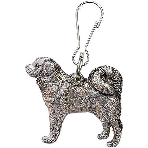 Dogo del Tíbet Hecho en Reino Unido Artístico Perro Cremallera Colección