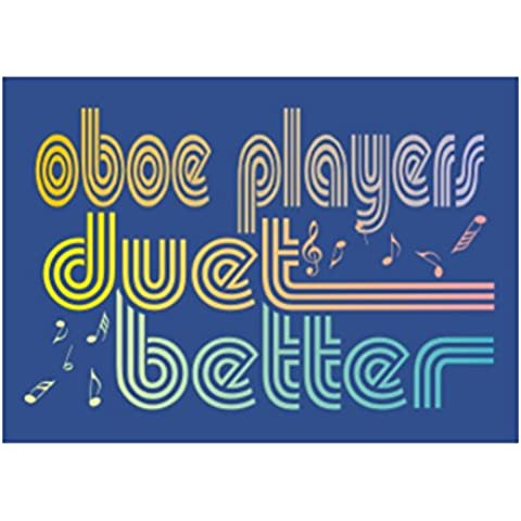 Teeburon Oboe duet better Sticker Pacchetto di