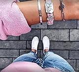 PURELEI Elastisches Frauen Armband (3 Stück) -...
