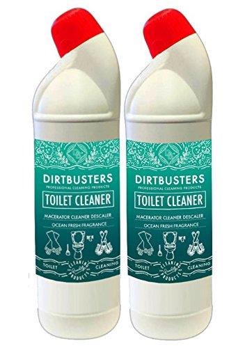 WC-Reiniger und Entkalker und Macerator saniflo Entkalker 1L Sicher für Zerkleinerer und Klärgruben -