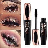 Ginkago 4D Silk Fiber Eyelash Mascara Extension Makeup Waterproof Curling Natural Eye Makeup Long Lasting, 8 Pcs Set
