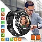 Tipmant Reloj Inteligente Mujer Hombre SN08 Smartwatch Pantalla táctil con Ranura para Tarjeta SIM...