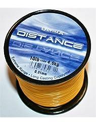 Ultima Unisex e5271Rango de larga distancia Casting y mar pesca línea, fuego naranja, 0,31mm-10.0LB