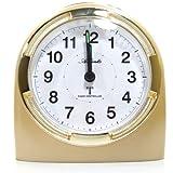 Atlanta 1404-9 Wecker Funkwecker Analog Licht Alarm weiss gold