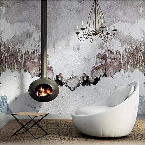 Wuyyii Avantgarde Einfache Abstrakte Tinte Malerei Sofa Tv Hintergrund Wandbild Tapeten 3D Für Wohnzimmer Schlafzimmer Papier Wand-Dekor-250X175Cm -