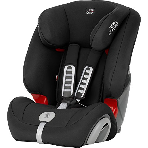 Britax Römer EVOLVA 123 PLUS Combination Car Seat, Group 1/2/3 (9 - 36 kg), Collection 2017, Cosmos Black