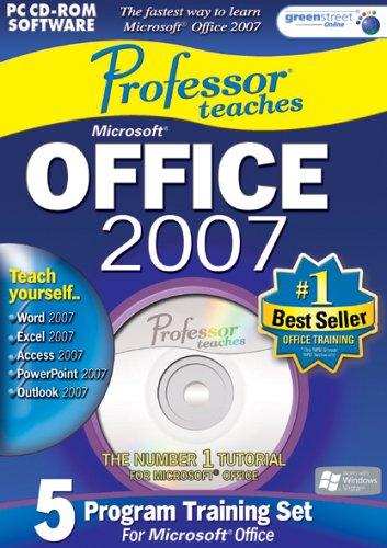 Professor Teaches Office 2007 Training Suite Test