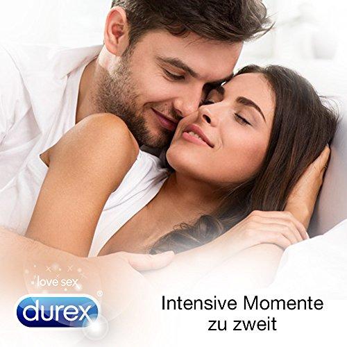 Durex Invisible Kondome, extra dünn für intensives Empfinden, 12er Pack (1 x 12 Stück) - 5