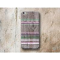 aztekisch Streifen Holz Print Hülle Handyhülle für iPhone 4 4s 5 5se se 5C 5S 6 6s 7 Plus iPhone 8 Plus iPod 5 6