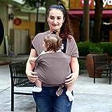 YITEJIA Hohe Qualität Komfortable Infantile Modo Sling Rucksack, tragbar, Molle des Kindes Wrap Natural, 0-3 Jahre Baumwolle, Atmungsaktiv Kindersitz Anca hipseat Nursing Decke (Color : BC0024)
