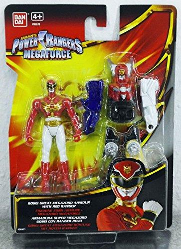 Power Rangers - Megaforce - Gosei Great Megazord Armour with Red Ranger ca. 10 cm
