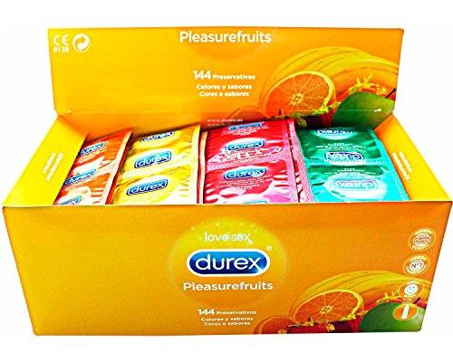 48-preservativos-condones-durex-pleasurefruits-2-lubricantes-monodosis