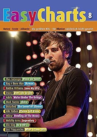 Easy Charts: Die größten Hits spielerisch leicht gesetzt. Band 8. Klavier / Keyboard. Spielbuch. (Music (Hits Songbook)