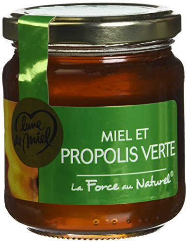 Lune de Miel Les Specialites Miel et Propolis Pot Verre 250 g