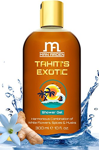 Man Arden Tahiti's Exotic Luxury Shower Gel, 300ml
