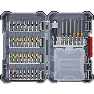 Bosch Professional 2607017464 Akkuschrauber Zubehör Pick & Click Set 40tlg. (im Koffer)