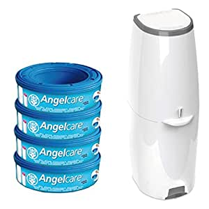 Angelcare Windeleimer Comfort Plus inkl. 4 Kassetten