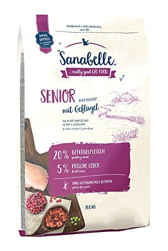 Sanabelle Senior | Katzentrockenfutter für ältere Katzen ab dem 8. Lebensjahr , 10 kg