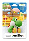 Amiibo Yoshi Di Lana Verde - Yoshi'S Woolly World Collection